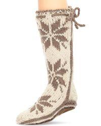 Woolrich - Women's Chalet Sock Slipper - Lyst