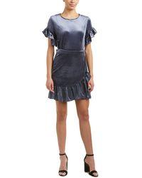Drew - Samantha Dru Velvet Sheath Dress - Lyst
