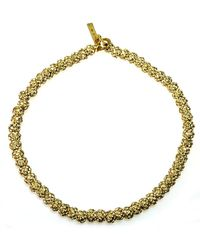 Otazu - Swarovski Crystal Pave Balls Necklace - Lyst