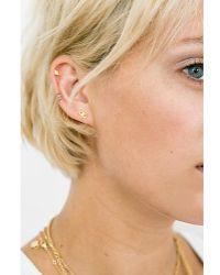 Katie Dean Jewelry - Evil Eye Studs - Lyst