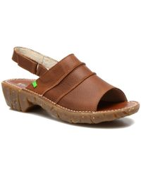 El Naturalista - Womens Yggdrasil Nc97 Leather Open Toe Casual Slingback Sandals - Lyst