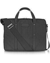 Porsche Design - Men's Grey Cotton Briefcase - Lyst