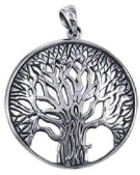 Aeravida - Magnificent And Inspiring Tree Of Life Sterling Silver Pendant - Lyst