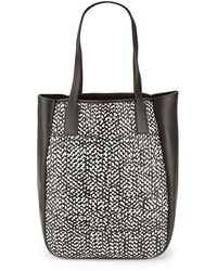 10 Crosby Derek Lam - Derek Lam Bond Woven Leather Tote Bag - Lyst
