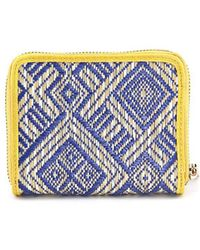 Shiraleah - Vivi Mini Zip Women Synthetic Wallet Nwt - Lyst