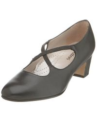 Trotters - Womens Jamie Closed Toe Ankle Strap Mary Jane Court Shoes - Lyst