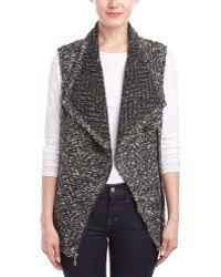 Drew - Laura Sweater Glitter Wool-blend Vest - Lyst