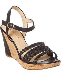 Sesto Meucci - 518 Leather Wedge Sandal - Lyst