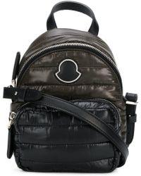 Moncler - Women's Black Polyester Shoulder Bag - Lyst