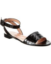 Jill Stuart - Clarisse Leather Sandal - Lyst