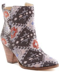 """Ella Moss - """"""""""""""""victoria"""""""""""""""" Tapestry Ankle Boot - Lyst"""