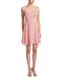 Peach Love CA - Peach Love Cream Stripe A-line Dress - Lyst