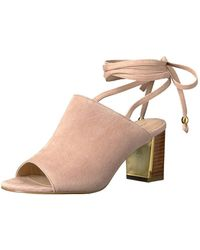 48a0aff498b Adrienne Vittadini - Footwear Women s Panak Heeled Sandal - Lyst