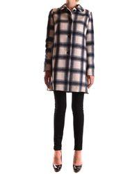 Geospirit - Women's Multicolor Polyester Coat - Lyst
