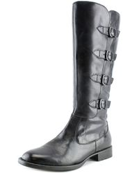 Born - Cuatros Round Toe Leather Knee High Boot - Lyst