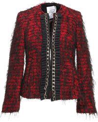 De'Hart - Women's Red Wool Jacket - Lyst