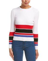 Haute Rogue - Striped Sweater - Lyst