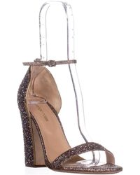 Sergio Rossi - Freda Crazy Ankle-strap High Heel Pumps, Crazy Gold - Lyst
