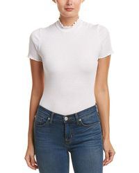 Michael Stars - Mock Neck Bodysuit - Lyst
