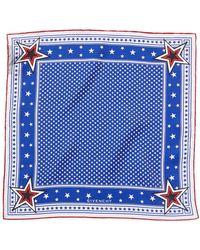 Givenchy - Stars Silk Scarf - Lyst