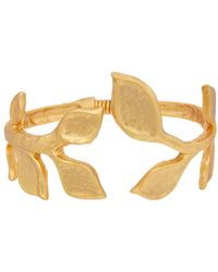 Kenneth Jay Lane - 22k Plated Bracelet - Lyst