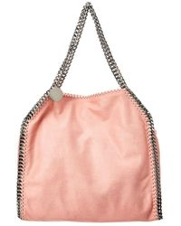 Stella McCartney - Small Falabella Shaggy Deer Fold Over Tote - Lyst