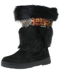 BEARPAW - Womens Kola Ii Mid-calf Feathered Winter Boots - Lyst