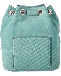 Rebecca Minkoff - Becky Convertible Suede Backpack - Lyst