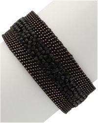 Sparkling Sage - 14k Plated Resin Bracelet - Lyst
