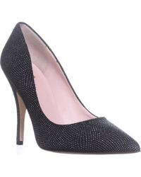 Kate Spade - Kate Spade Licorice Pointed-toe Dress Pumps, Black/graphite - Lyst