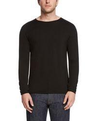 Daniel Hechter - Raw Edge Wool Sweater - Lyst