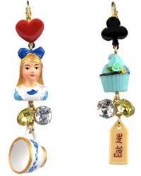 Les Nereides - Alice's Tea Time Earrings - Lyst
