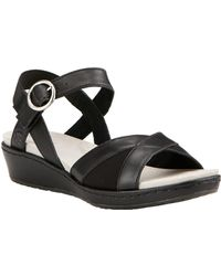 Ariat - Women's Out And About Leather Sandal - Lyst