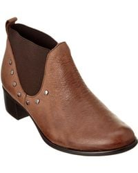 Munro - American Austen Leather Ankle Boot - Lyst