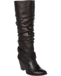 Ella Moss - Viola Leather Tall Boot - Lyst