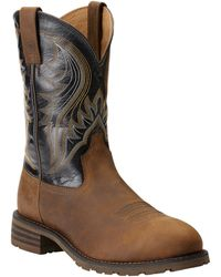 Ariat - Men's Hybrid Rancer Leather Western Boot - Lyst