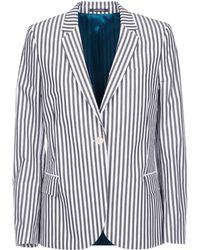 Paul Smith - Women's White Cotton Blazer - Lyst
