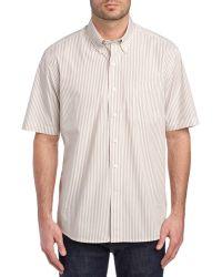 Cutter & Buck - Bengal Stripe Woven Shirt - Lyst