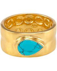 Melinda Maria - Susan Turquoise Pod Ring - Lyst