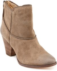 """Ella Moss - """"""""violet"""""""" Suede & Leather Ankle Boot - Lyst"""