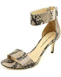 Via Spiga - Lavinia Open Toe Leather Sandals - Lyst