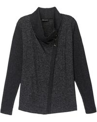 Bobeau - Button Collar Plus Size Cosy Cardigan - Lyst