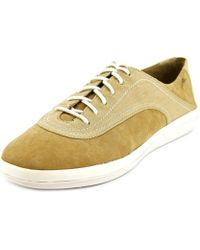 Tommy Bahama - Relaxology Cartahena Women Round Toe Canvas Tan Trainers - Lyst