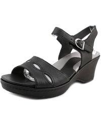 Ariat - Sandy Women Open Toe Synthetic Platform Sandal - Lyst