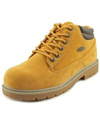 Lugz - Monster Mid Men Round Toe Synthetic Tan Work Boot - Lyst