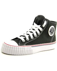 PF Flyers - Center Hi Reiss Round Toe Canvas Sneakers - Lyst