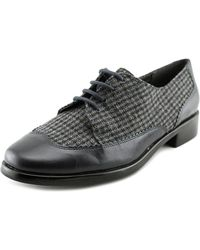 Aerosoles - Accomplishment Round Toe Canvas Oxford - Lyst