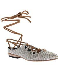 Freebird by Steven - Women's Enya Ghillie Lace Shoe - Lyst