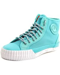 PF Flyers - Center Hi Round Toe Canvas Sneakers - Lyst