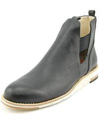 Matt Bernson - Futura Round Toe Leather Boot - Lyst